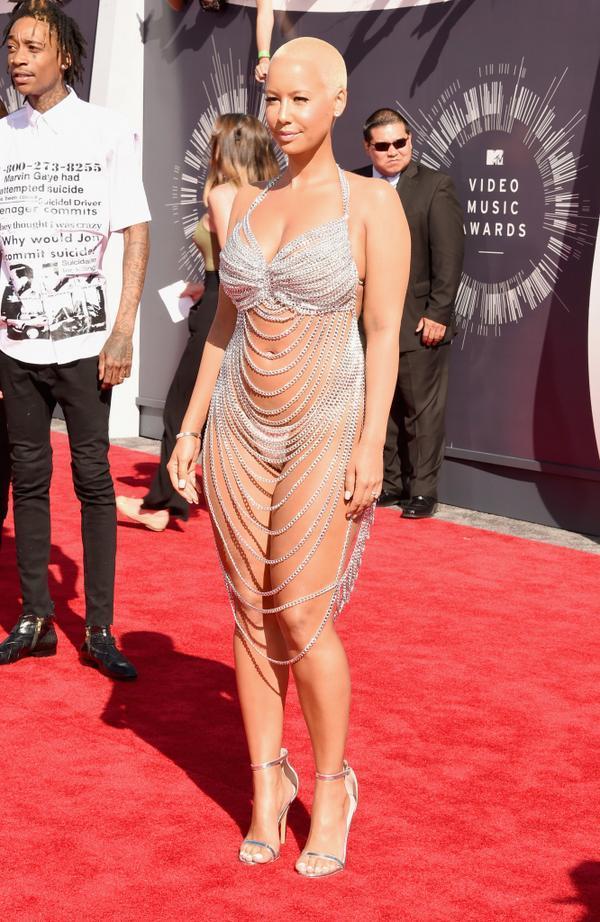 Amber Rose - 2014 MTV Video Music Awards (Foto: Reprodução)