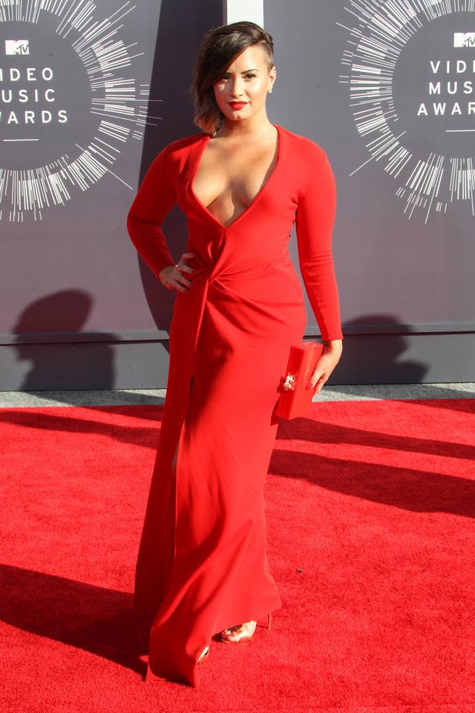 Demi Lovato - 2014 MTV Video Music Awards (Foto: Reprodução)