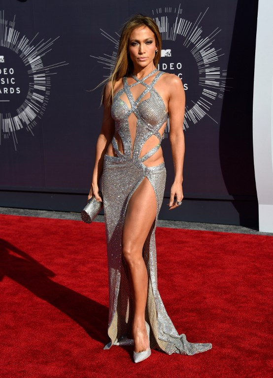 Jennifez Lopez - 2014 MTV Video Music Awards (Foto: Reprodução)