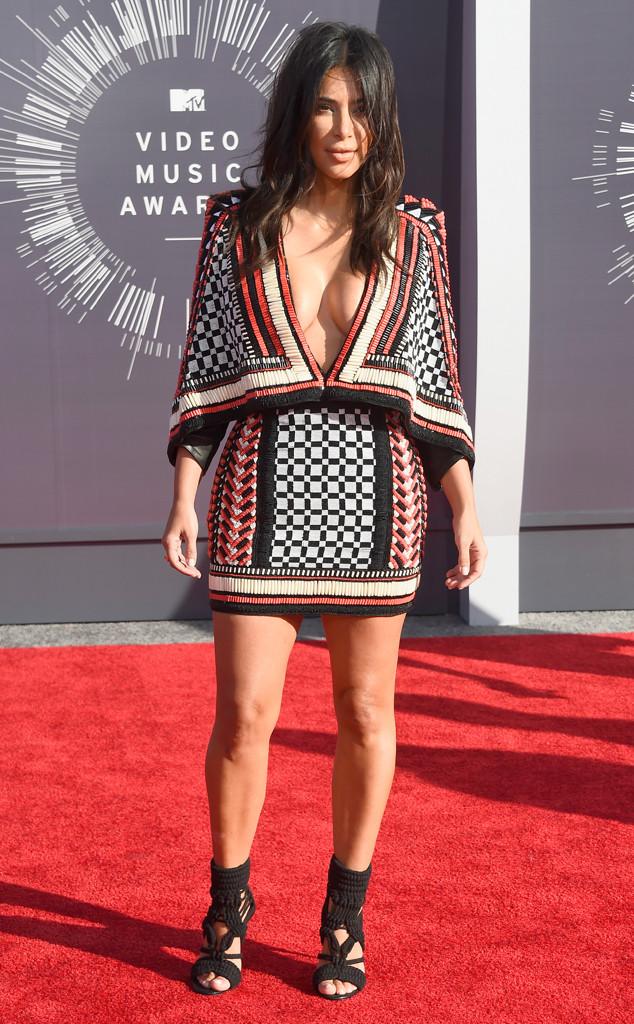 Kim Kardashian - 2014 MTV Video Music Awards (Foto: Reprodução)