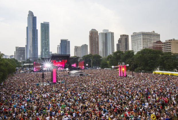 Lollapalooza Chicago, 2014 (Imagem: Reprodução)