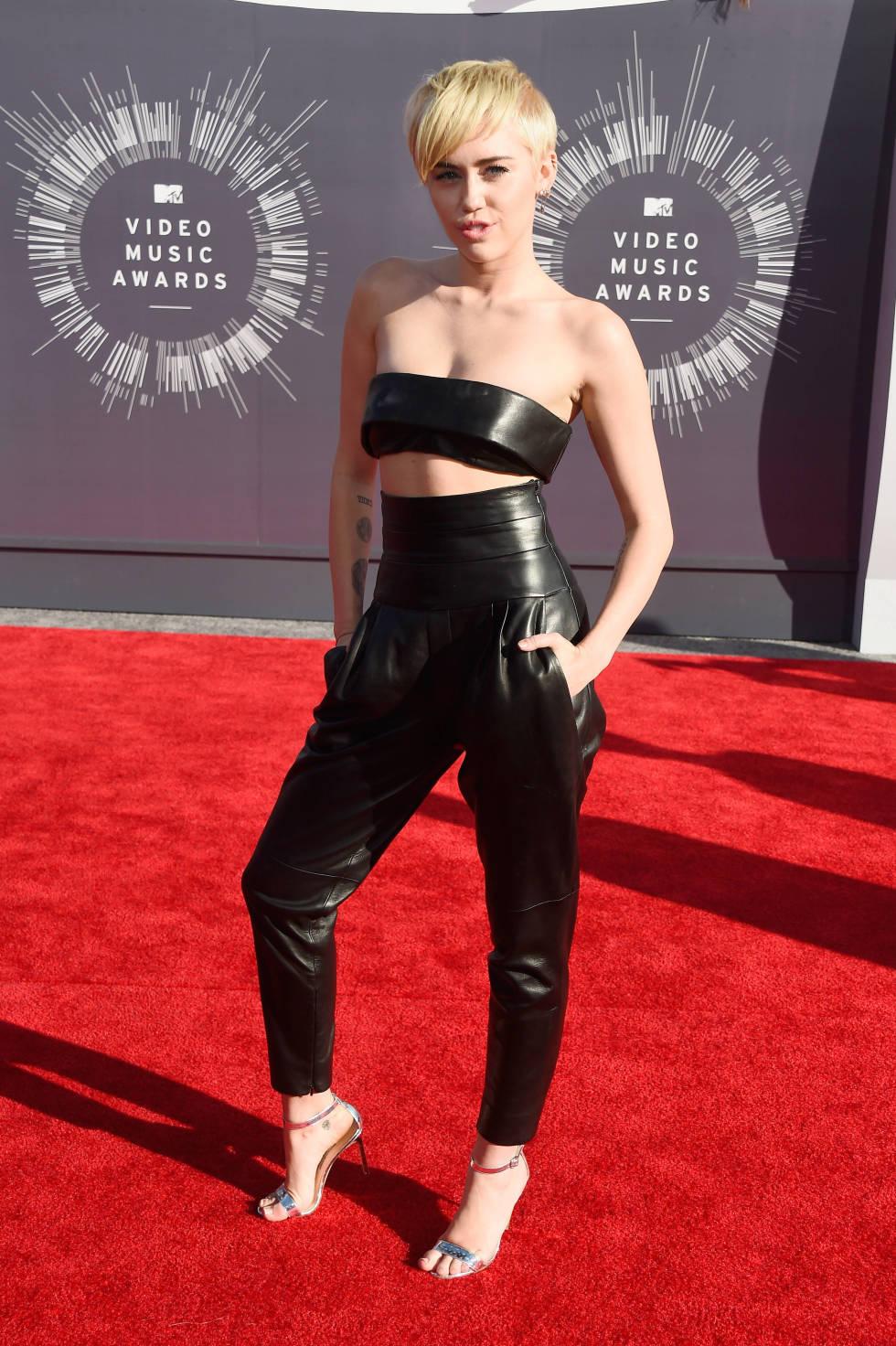 Miley Cyrus - 2014 MTV Video Music Awards (Foto: Reprodução)