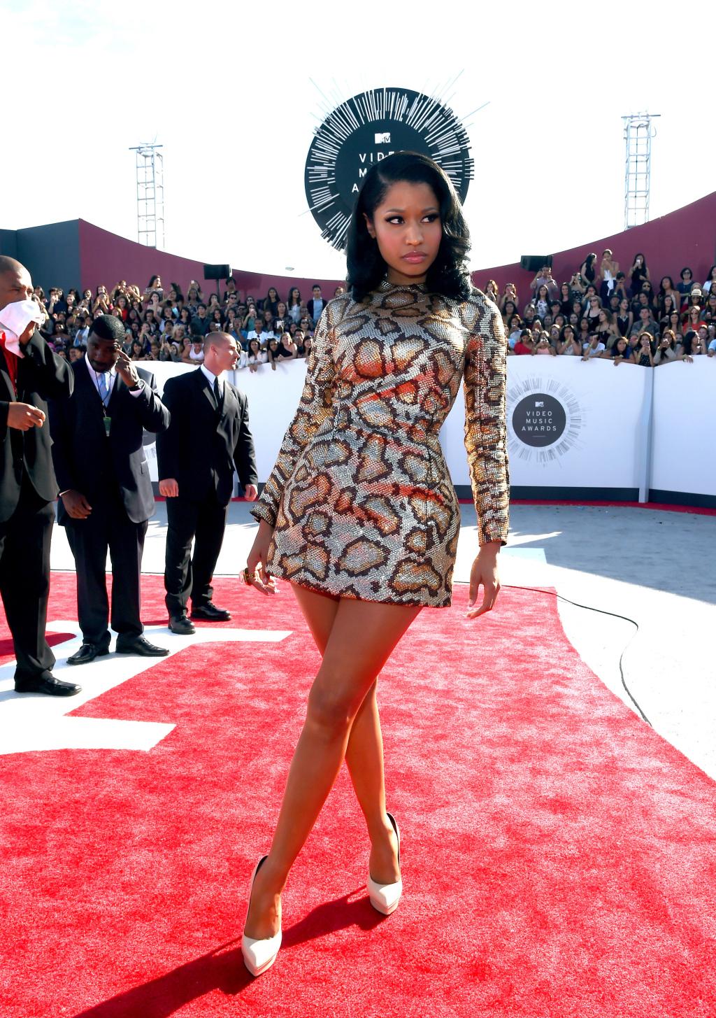 Nicki Minaj - 2014 MTV Video Music Awards (Foto: Reprodução)