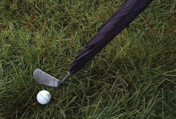Guarda-Chuva para jogadores de Golf. (Imagem: Reprodução)