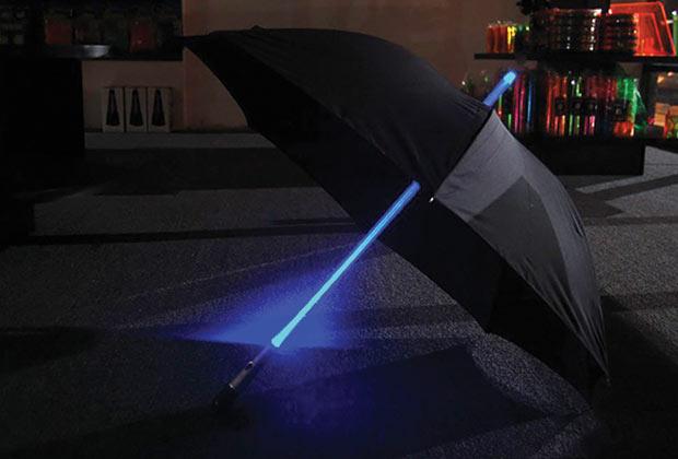 Guarda-Chuva para os Jedis. (Imagem: Reprodução)